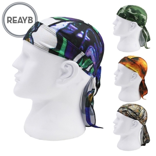 Reayb Men Quick-drying Pirate Hat Riding Head Scarf Anti-sweat Outdoor Sports Cycle Bandanas