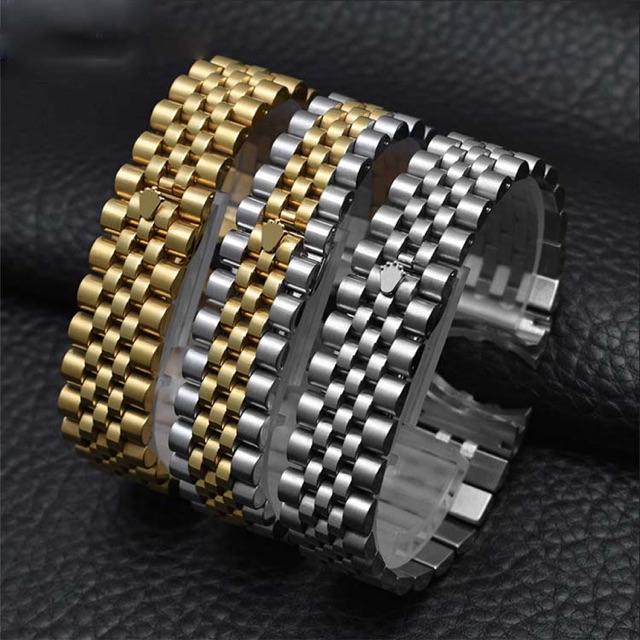 Dây Rolex inox dùng thay cho các loại đồng hồ