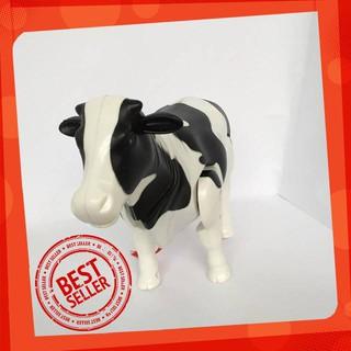Đồ Chơi Mô Hình Bò Sữa Biết Đii Và Phát Nhạc Vui Nhộn Cho Bé(Hàng VN) [SIÊU TIẾT KIỆM]