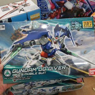 Bộ mô hình lắp ghép HG Gundam 00 Diver/ Diver Ace