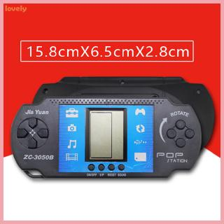 Classic Tetris Game Machine Children's Puzzle Handheld Game Console Electronic Toys