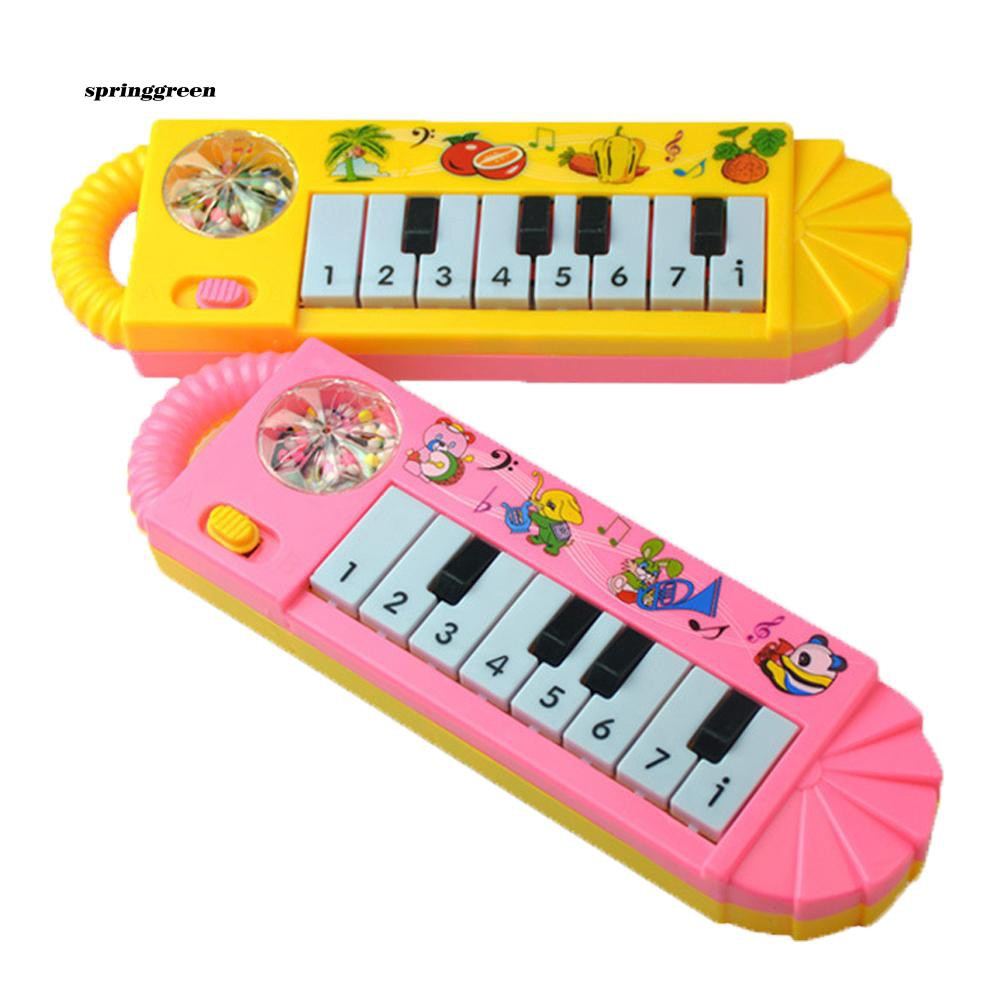 SPR♥8 Keys Early Educational Electric Piano Musical Instrument Baby Kids Toy Gift