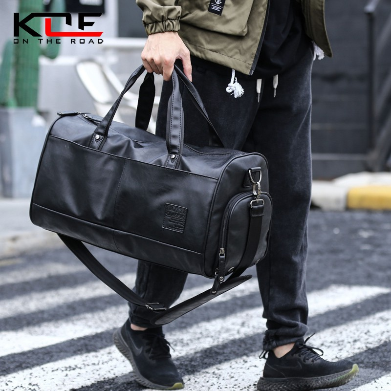 Pu leather business travel bag handbags fashion trend sports
