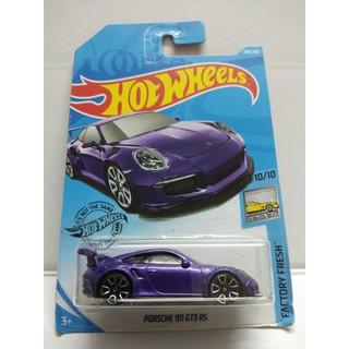 Xe Mô Hình Chính Hãng HotWheels – Porsche 911 GT3 RS