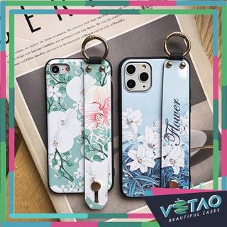[ FREESHIP TỪ 50K TOÀN QUỐC ] Ốp lưng Iphone Flower nền sáng + đai thumbnail