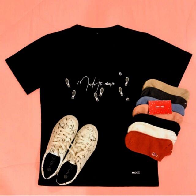 Combo MIDAZ: 01 đôi giày MIDAZ bất kỳ + 01 áo thun + 07 đôi vớ + Voucher Sale off 20%