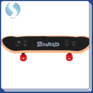 Plastic Professional Fingerboard Toys Skateboard Bearings Mini Suit