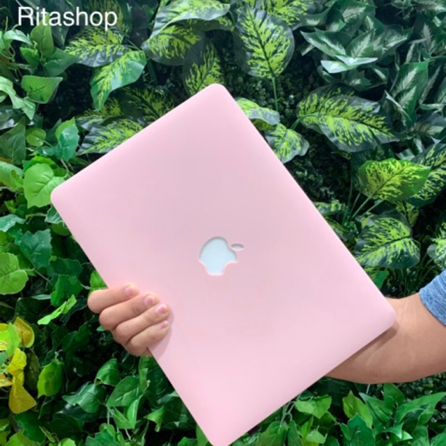 Case Ốp Macbook hồng pastel 4 in 1 Giá chỉ 120.000₫