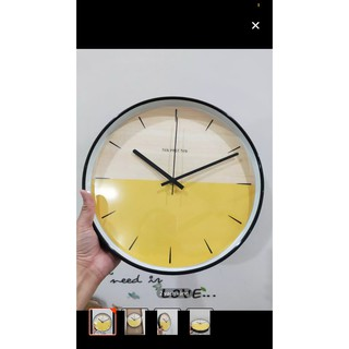 [ Chính Hãng ][ Hủy Diệt ] Đồng hồ treo tường quartz cao cấp kim trôi