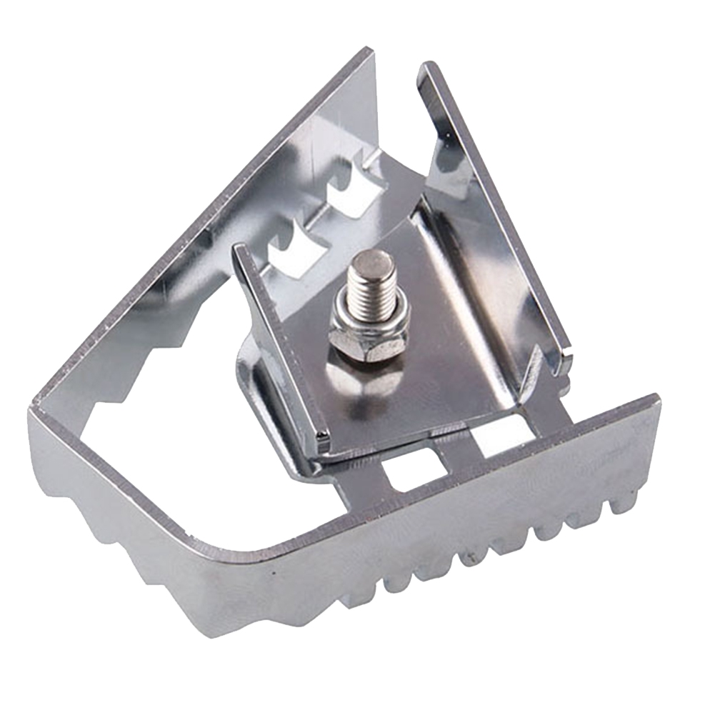 Easy Install Silver Durable Enlarge Universal Pedal Motorcycle Accessories Practical Iron For R1200GS F800GS