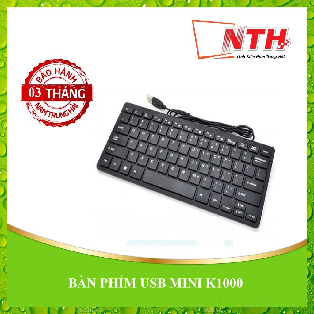 [NTH] BÀN PHÍM USB MINI K1000