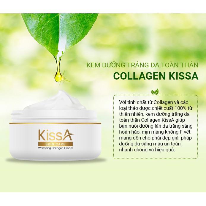 kem dưỡng trắng da toàn thân KISSA ( CHÍNH HÃNG)