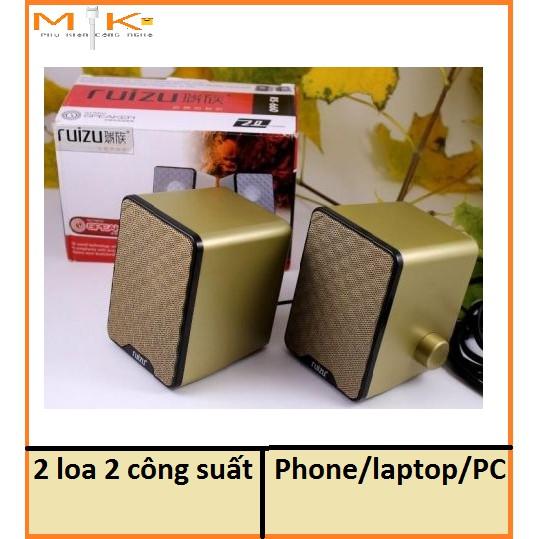 Bộ Loa Vi Tính Hãng RUIZU RS 660 2 công suất