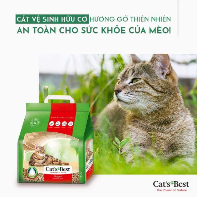 Cát vệ sinh hữu cơ cho mèo Gói 10L