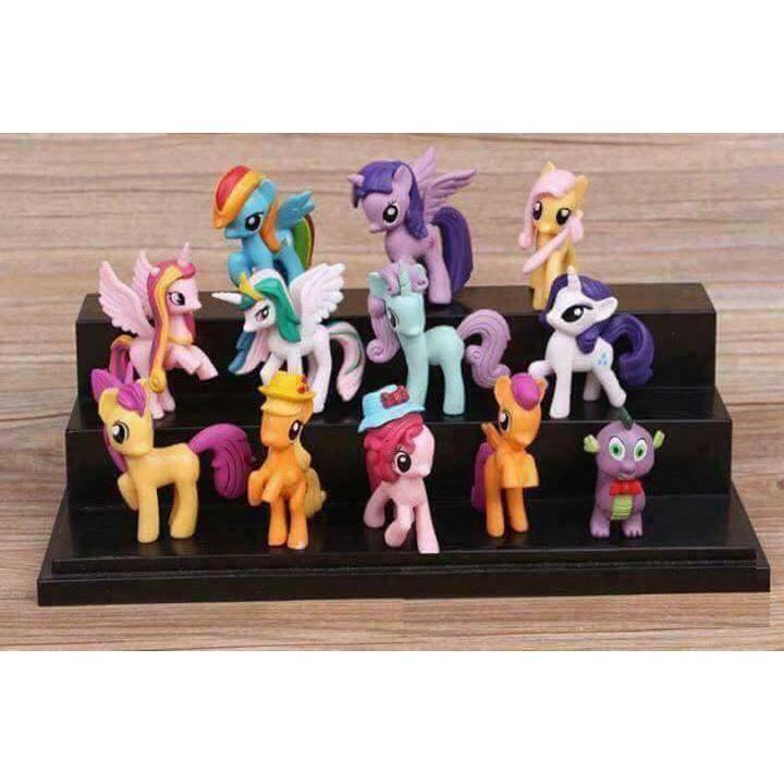 Bộ 12 ngựa Pony