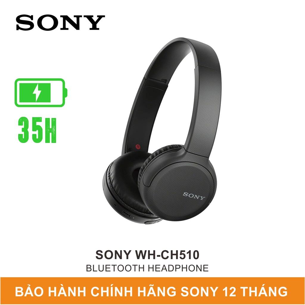 Tai Nghe Chụp Tai Bluetooth Sony WH-CH510 - Chính Hãng Sony Việt Nam - Bảo Hành 12 Tháng