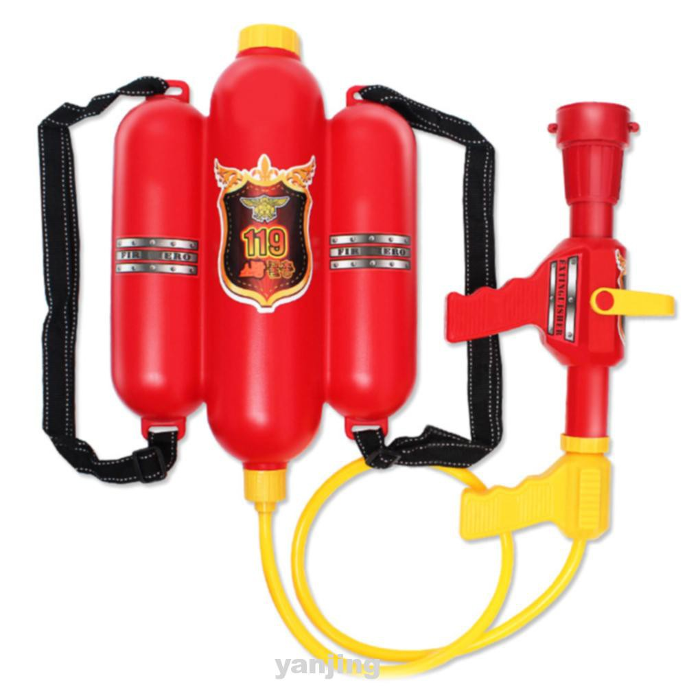 Outdoor Plastic Children Red Beach Durable Fireman Toy