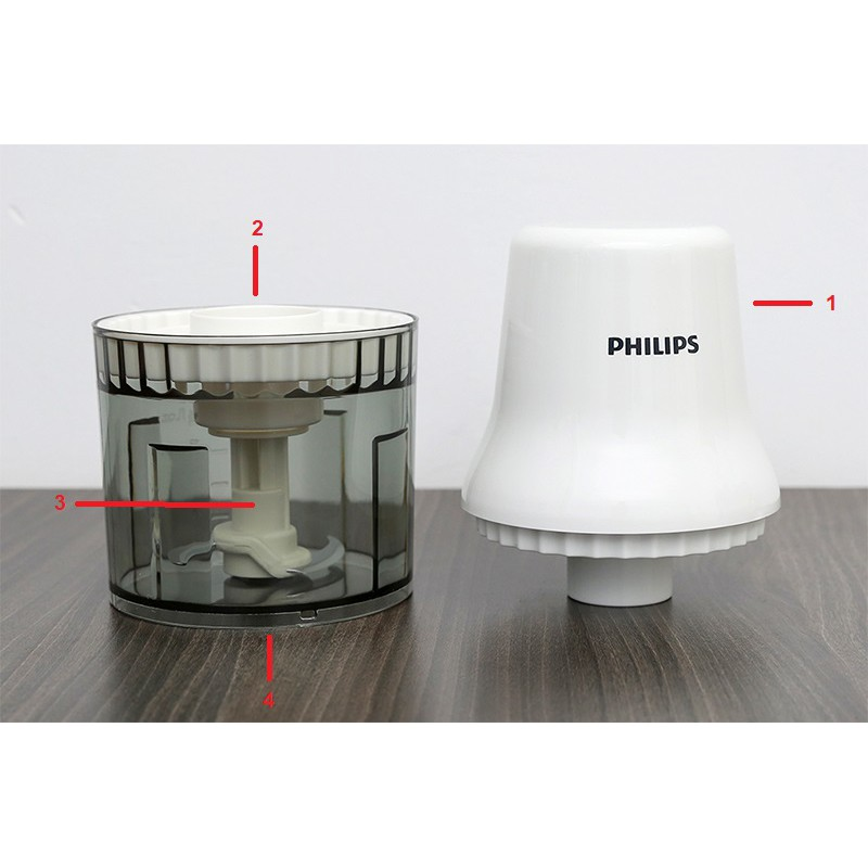 Phụ kiện máy xay thịt xay thực phẩm Philips HR1393
