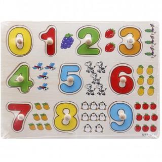 Bảng 10 số tập đếm cho bé 020 có núm