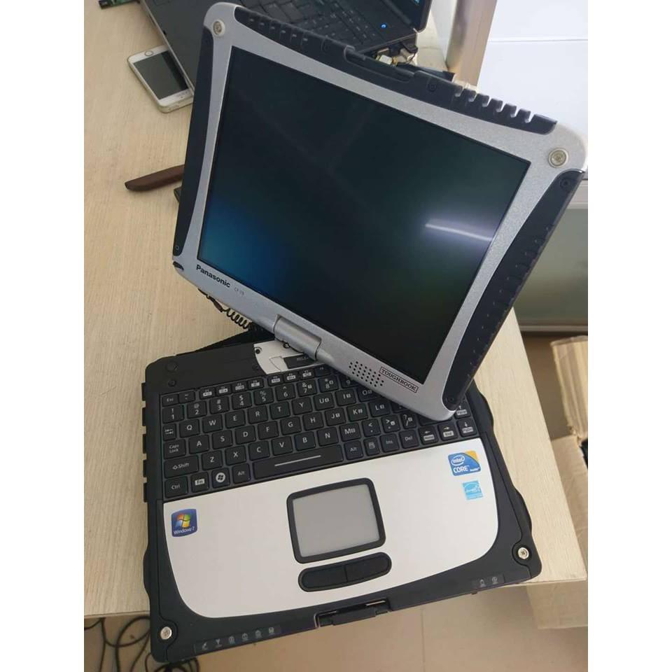 Panasonic CF-19 Core i5 540U Ram 4Gb SSD 160Gb Cảm ứng tay và Bút, Chống nước chống sốc toàn diện