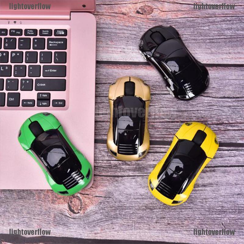 Chuột Quang Không Dây Hình Xe Hơi Chuyên Nghiệp Cho Pc / Laptop