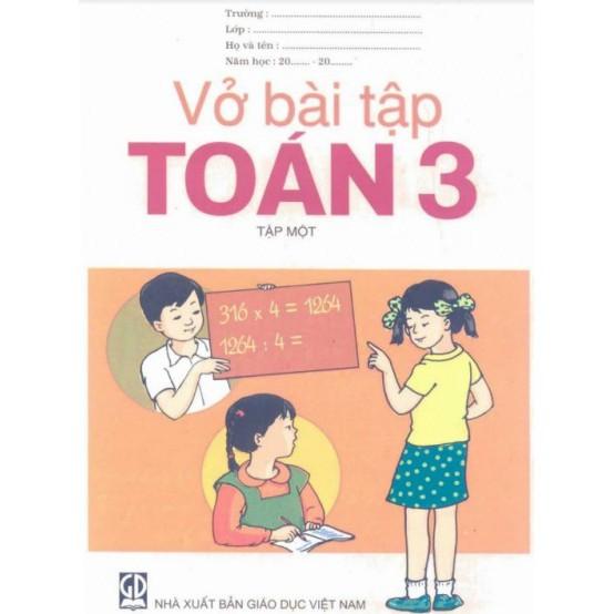 Sách - Vở bài tập Toán 3 - tập một