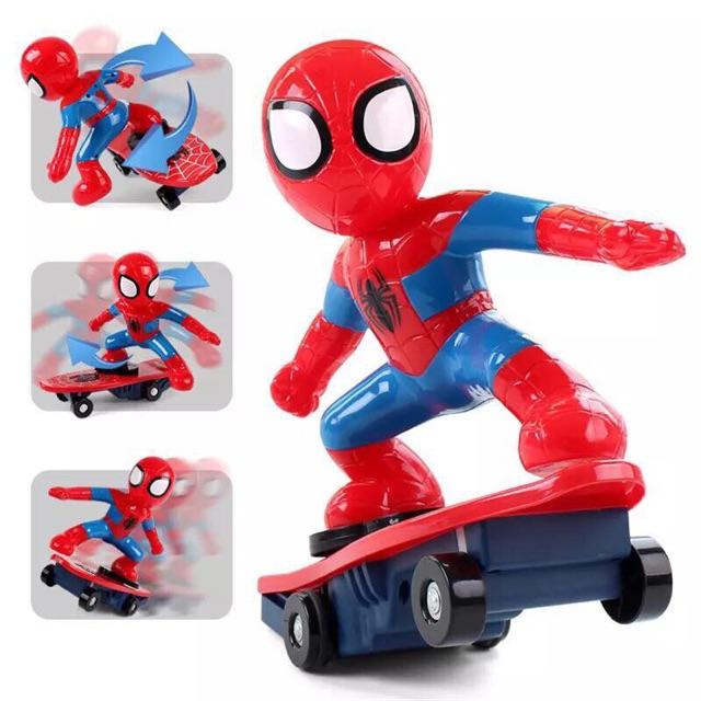 Đồ chơi người nhện trượt ván - 2500484 , 1151814262 , 322_1151814262 , 100000 , Do-choi-nguoi-nhen-truot-van-322_1151814262 , shopee.vn , Đồ chơi người nhện trượt ván