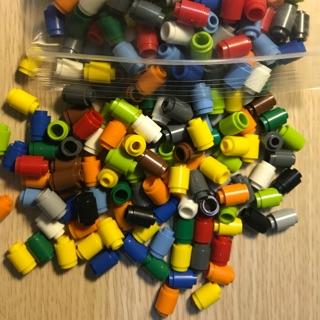 [ Gạch lẻ ] 10 viên gạch hình trụ cao, thấp – tương thích với LEGO