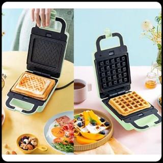 Máy kẹp nướng làm bánh Bear_ Máy nướng bánh Sandwich – waffle – Bánh Quế_chỉ với 3 phút cho bữa ăn sáng