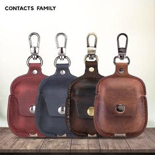 Bao da Genuine Leather bảo vệ cho Airpods 1/ Airpods 2