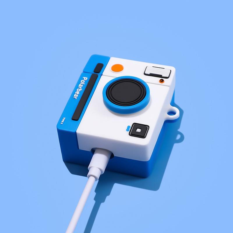 Vỏ bảo vệ tai nghe i11,i12,Airpod 1,2/Pro Hình Máy Ảnh Polabear - Ốp Đựng Tai Nghe bluetooth airpods