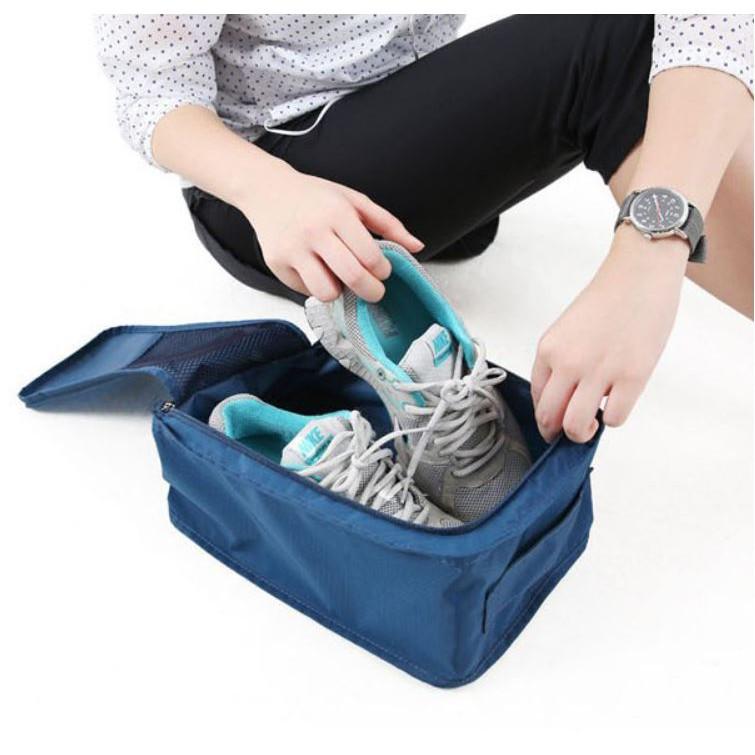 Túi đựng giầy du lịch gấp gọn chống thấm
