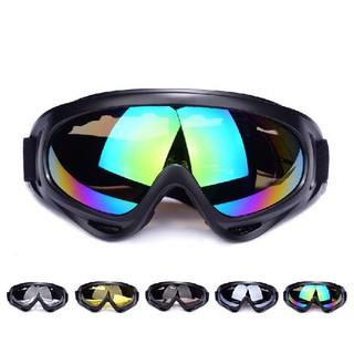 Kính UV400 nhiều màu gắn nón bảo hiểm phượt