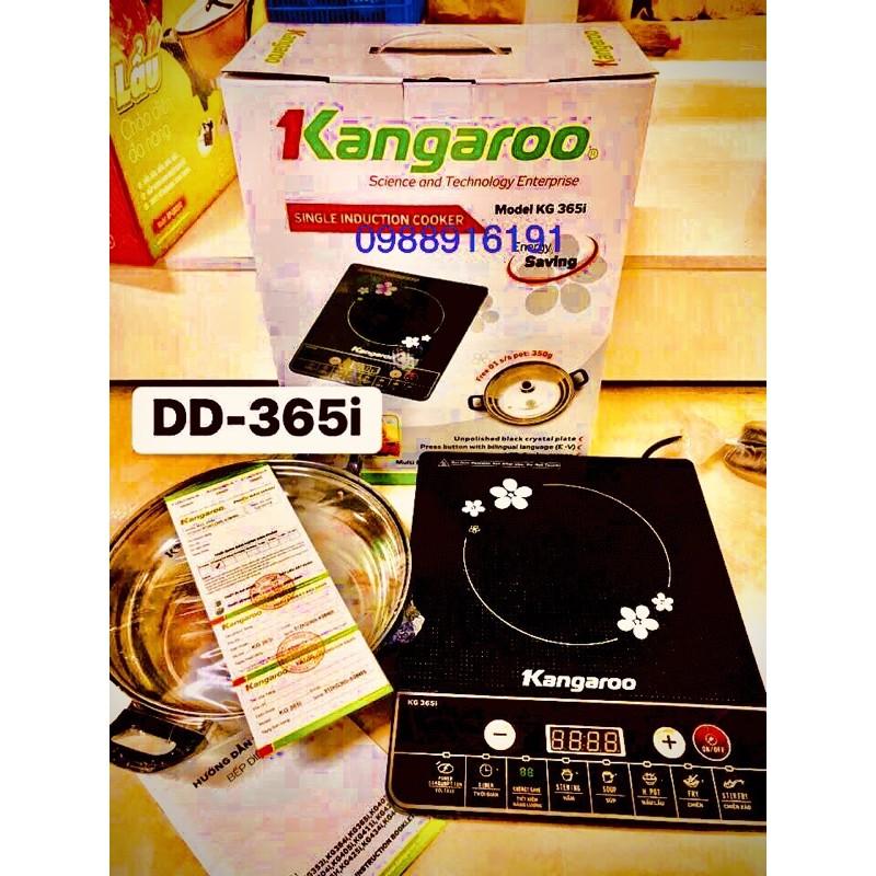 Bếp từ kangaroo 365i tặng kèm nồi inox cao cấp