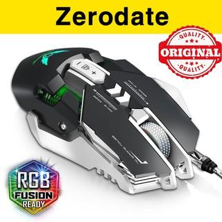 Chuột gaming Zerodate G9 - Chuột chơi game Zerodate 3200DPI led RGB G90 thumbnail