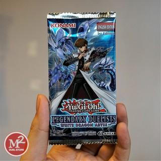 Túi thẻ bài Yugioh – Legendary Duelists: White Dragon Abyss sản xuất tại Anh – 5 lá bài mỗi túi