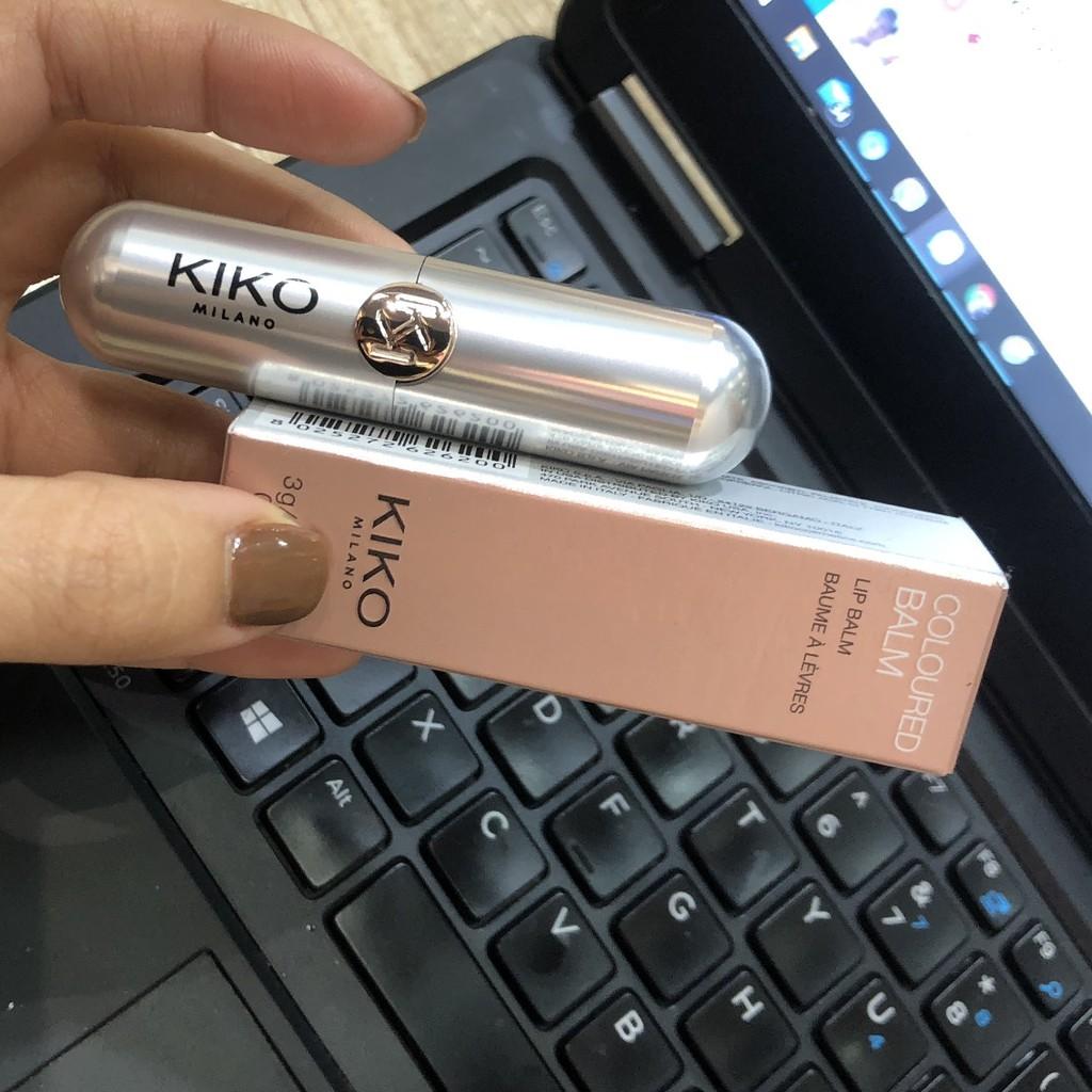 Kiko Milano Coloured Balm - Son Dưỡng Môi Có Màu 4 Loại