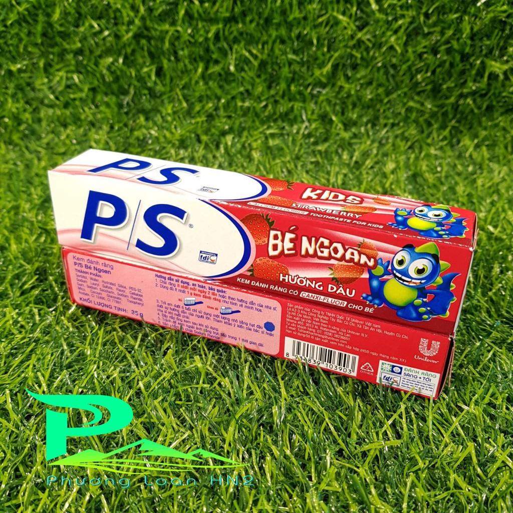 Combo 2 hộp Kem đánh răng trẻ em PS tuýp 35g