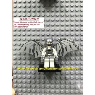 Minifigures mô hình nhân vật Batman cánh bạc