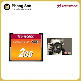 [Mã ELCANOV hoàn 8% đơn 500k] Thẻ nhớ Transcend CF 2GB (133x Speed) Hàng nhập khẩu