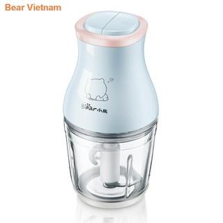 ♞♣♨ஐMáy xay thức ăn cho bé Bear food stick đa năng gia dụng trộn nước ép thịt mini nhỏ
