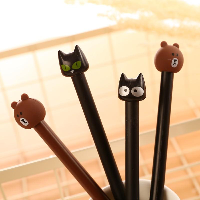Bút Gel Nước Gấu Brown Và Mèo Đen Cat Miu Xinh Ơi Là Xinh - 3158148 , 1010792009 , 322_1010792009 , 4900 , But-Gel-Nuoc-Gau-Brown-Va-Meo-Den-Cat-Miu-Xinh-Oi-La-Xinh-322_1010792009 , shopee.vn , Bút Gel Nước Gấu Brown Và Mèo Đen Cat Miu Xinh Ơi Là Xinh