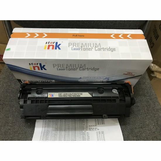 Hộp mực Star-ink 12A dùng cho máy in HP, Canon Có lỗ đổ mực và mực thải