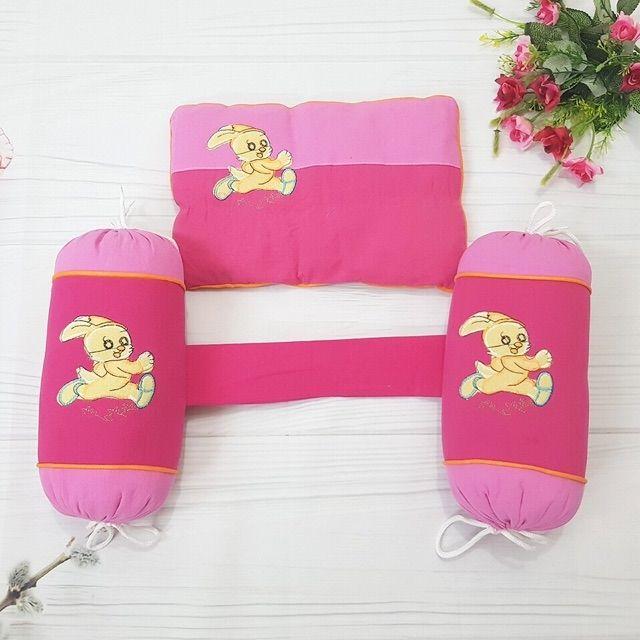 Bộ chặn + gối vỏ đỗ/bông giúp bé ngủ ngon,đỡ giật mình khi ngủ/nhiều mẫu