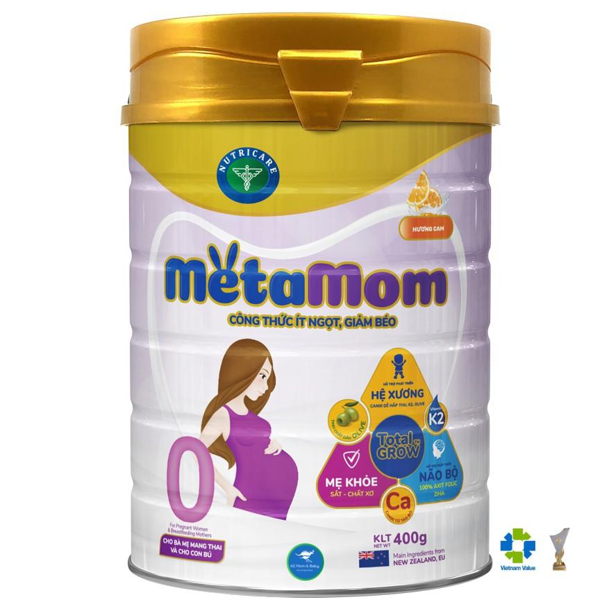 Sữa bột Nutricare MetaMom dành cho mẹ bầu & cho con bú (400g)