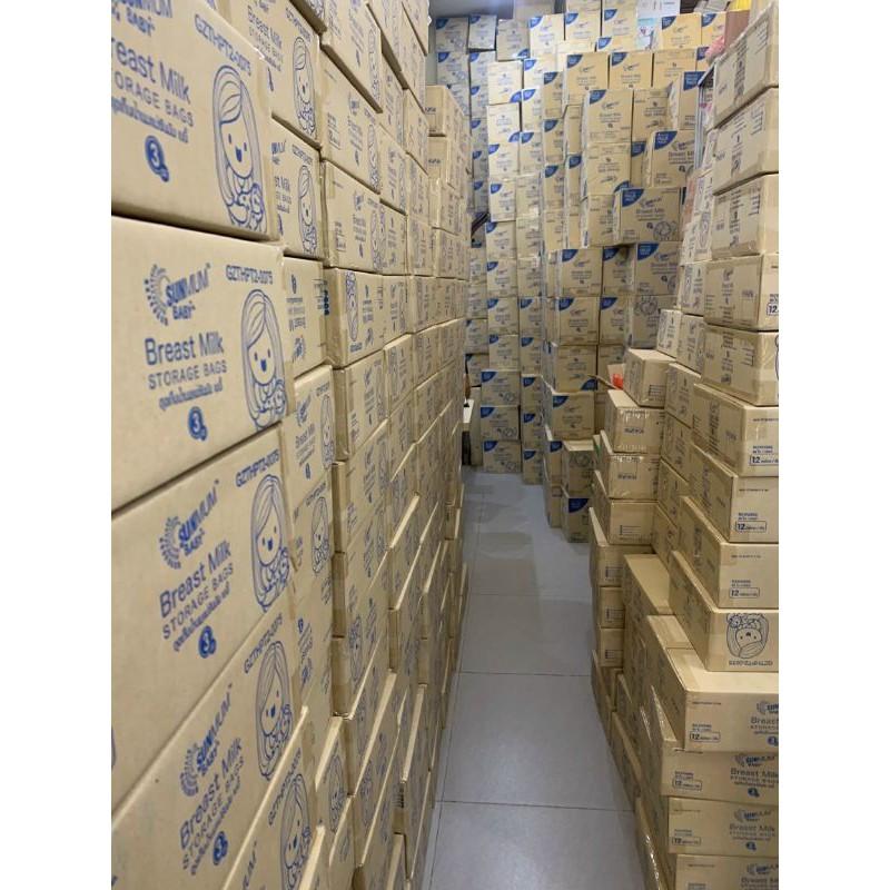 Túi trữ sữa Sunmum 250ml Hộp 50 túi đã tiệt trùng HÀNG CHUẨN HÃNG an toàn tiện lợi