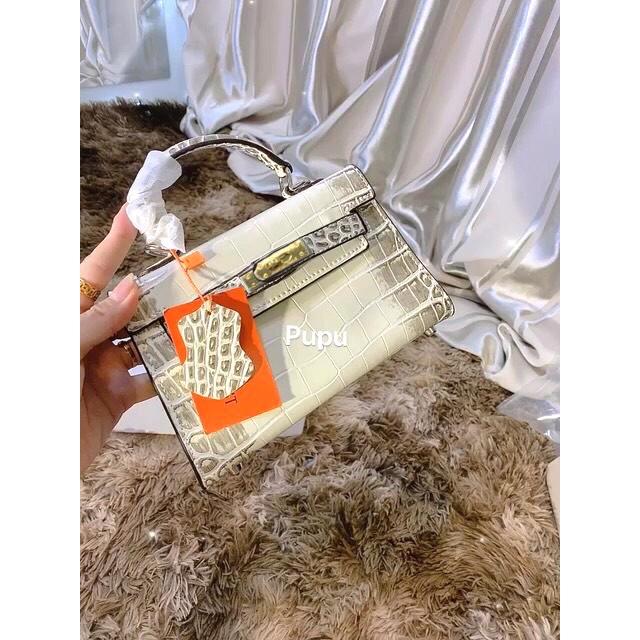 Túi xách HM Size 20 Da Rắn Hót Bền Vững ( Giá SỈ)