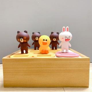 Giá đỡ điện thoại gấu Brown, vịt và thỏ Pony cute