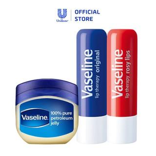 Bộ dưỡng môi đẹp xinh Vaseline thumbnail