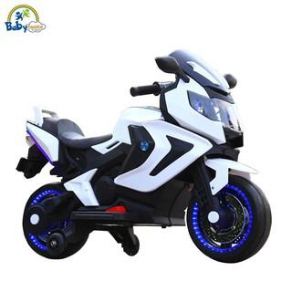 Xe máy điện trẻ em 2 động cơ 3 màu BBT-1500